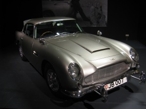 Aston Martin DB5, Why I love James Bond